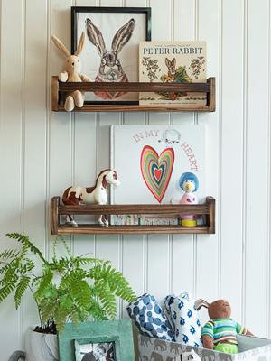 floating letter boards baby nursery shelves