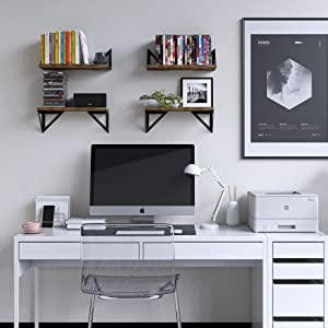 shelf bookcase wood bookcase floating book shelf magazine holder corner storage holder shelves dvd