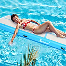 Inflatable Floor Mats with Electric Air Pump