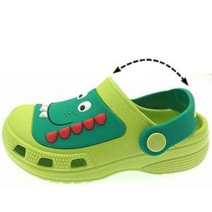 AMOJI Enfants Sabots Chaussures de Jardin Pantoufles Sandales KID1521