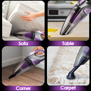 handheld vacuum cordless car vacuum cleaner mini small high power portable rechargeable accesorios