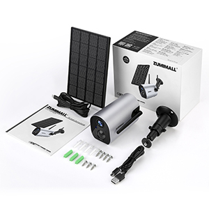 Güneş Paneli Kamera