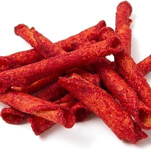 crunchy fajitas spicy hot flavor