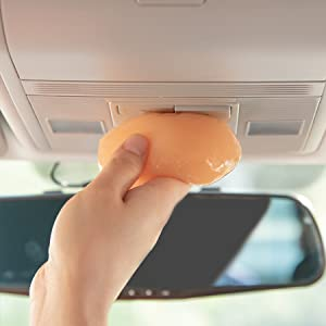 dust cleaning gel for car car detail putty
