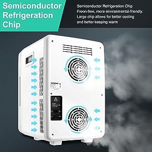 Thermoelektrischer Mini-Kühlschränke