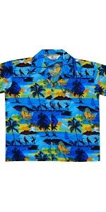 Scenic Hawaiian Shirts for Boys