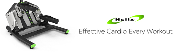Helix gives you an effective cardio workout every time