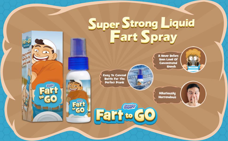 Super Strong Liquid Fart Spray. Fart to Go. Super strong Stench. Prank Fart Spray. Prank