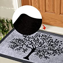 Anti-slip Rubber Back mats