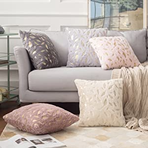 solid velvet throw pillow cover Euro Sham cushion sham luxury soft cases color size options