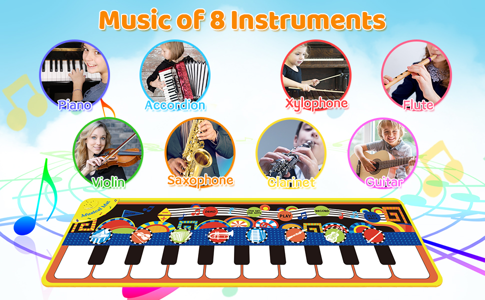 Music of 8 Instruments