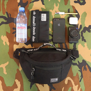 large waist pack crossbody bag roomy for wallet cell phone portable charger water bottle for outdoor