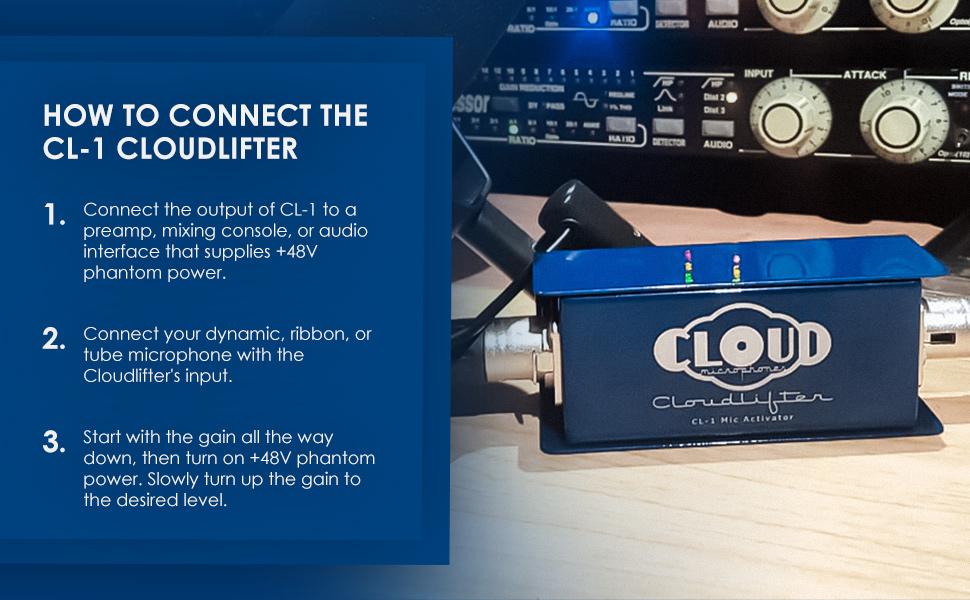 Cloud Microphones CL-1 Cloudlifter 1-Channel Mic Activator