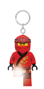 LEGO Ninjago Legacy Kai Minifigure Key Light keychain