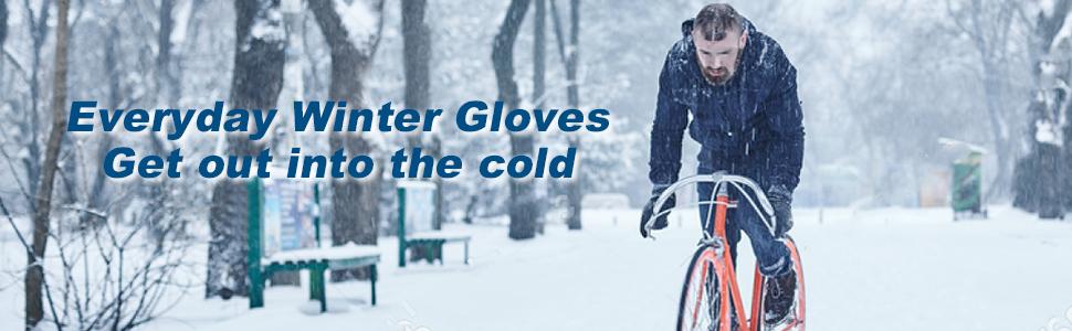 Unigear Winter waterproof gloves for outdoors for men and women