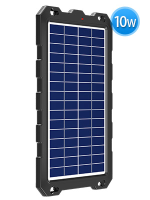 solar battery charger trailer