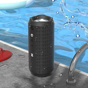 WSHDZ Portable 20w Waterproof Wireless Stereo Bluetooth Speakers J20 with Enhanced Bass Sound,Party Light,IPX67,HD Sound,Long Battery Life Support Hands-Free Call for Outdoor Indoor Activities-Black ea6df830 785a 4e9a b4e7 0801b3a67f9e