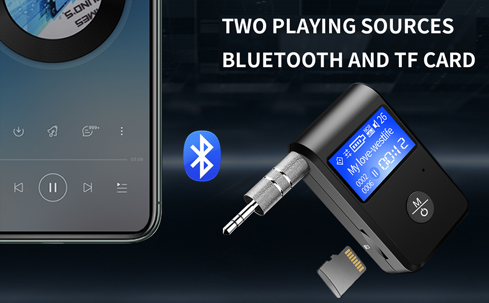 Visible Bluetooth Receiver