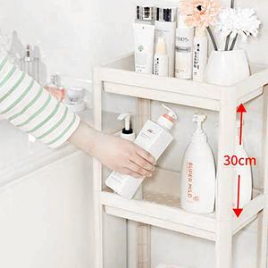 height between shelves
