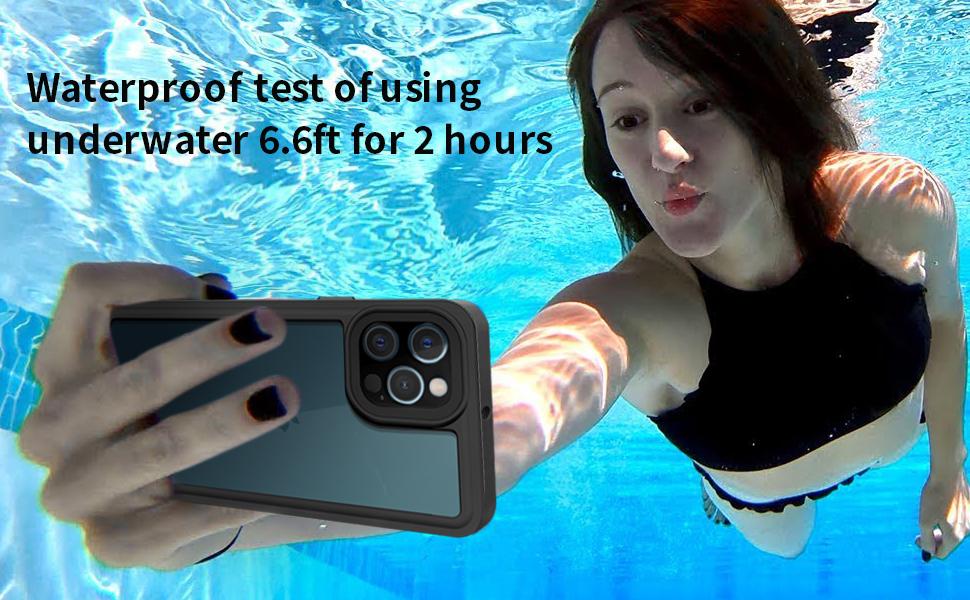 iphone 12 pro case waterproof