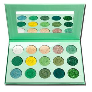 eyeshadow green