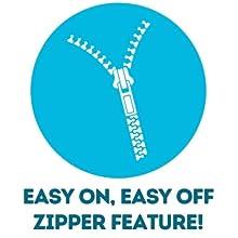 easy on easy off full length zipper rash guard swimzip upf 50+ uv sun protection swimwear