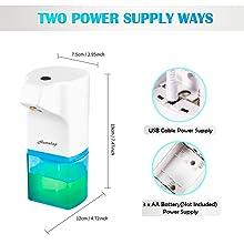automatic sensor touchless hand spray sanitizer disinfectant machine liquid alcohol dispenser