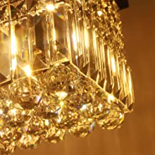 crystal chandelier pendant light
