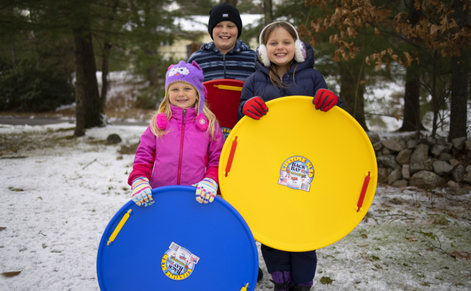 Outdoor sled for kids