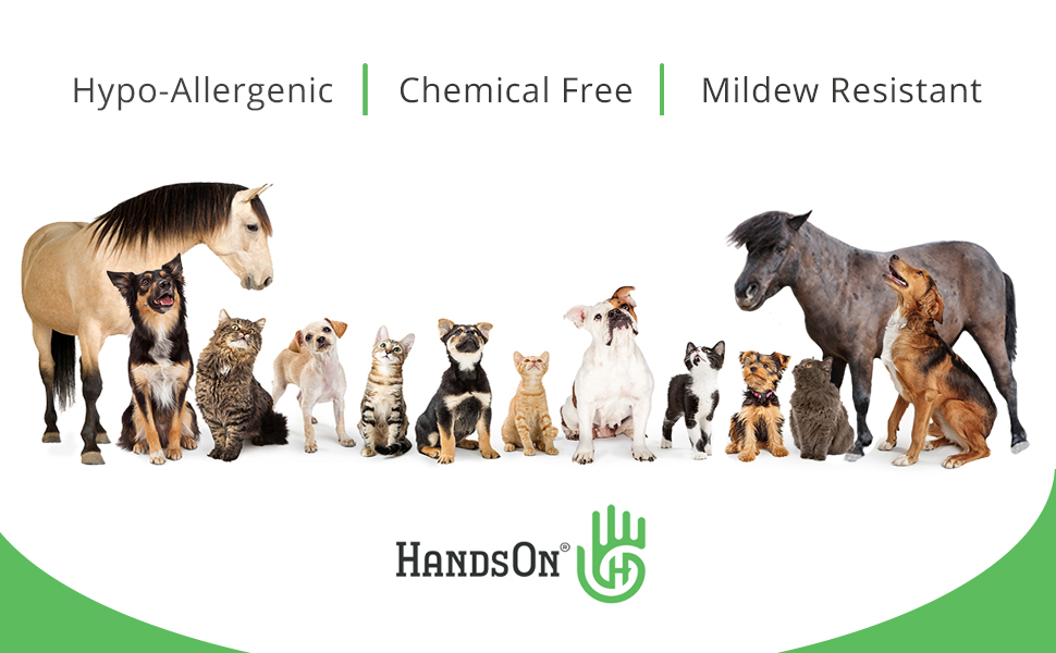 Hypo-allergenic, chemical-free & mildew resistant