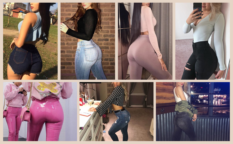 Butt Lifter Panties for Women tight jeans yoga denim jean sexy tight dress for party porm shirt