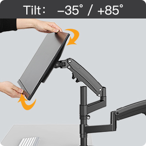 full motion monitor stand