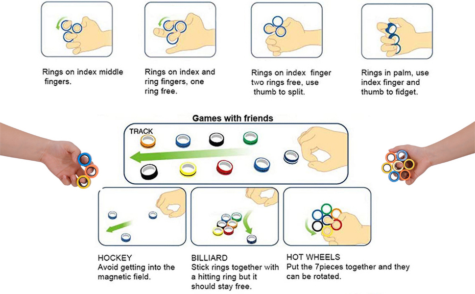 more tricks magnetic rings