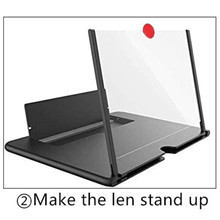 Screen Magnifier for Cell Phone, Foldable Phone Stand Accessories with Screen Amplifier