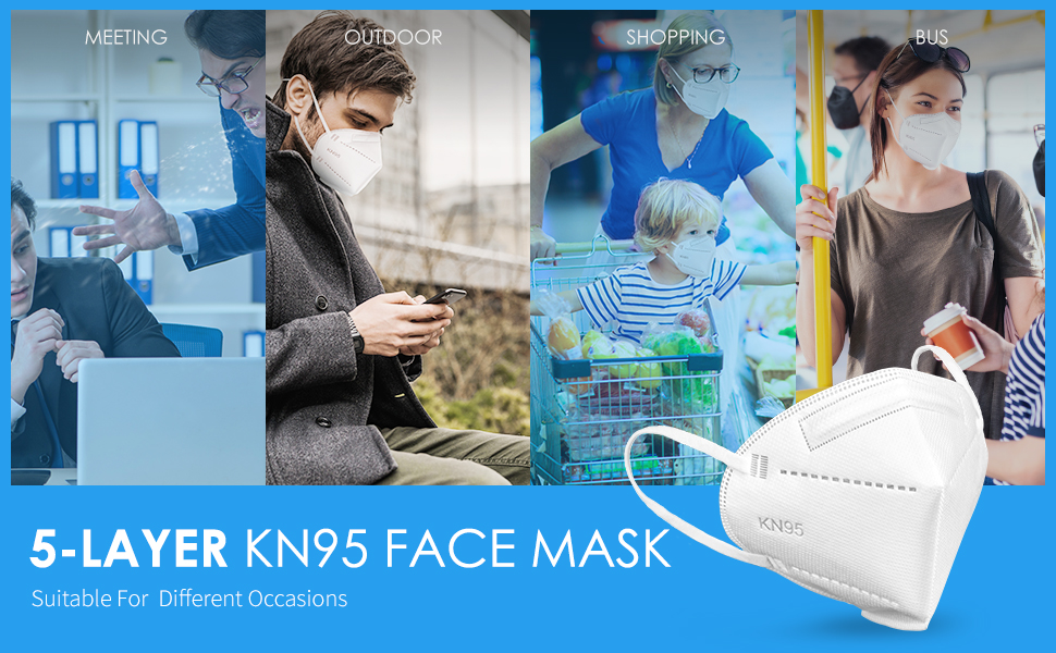 kn95 face mask widely for any occasion
