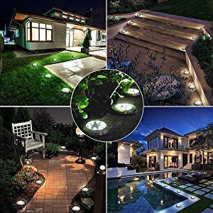 Luces Solares Led Exterior Jardin,Impermeable Luces Solares de ...