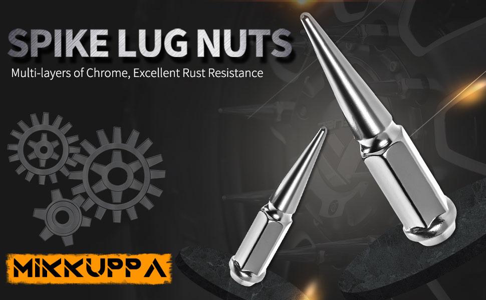 14x1.5 spike lug nuts