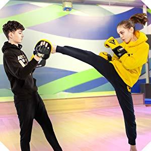 RDX Kids Boxing Pads Focus Mitts Junior Muay Thai MMA Kickboxing Karate Training