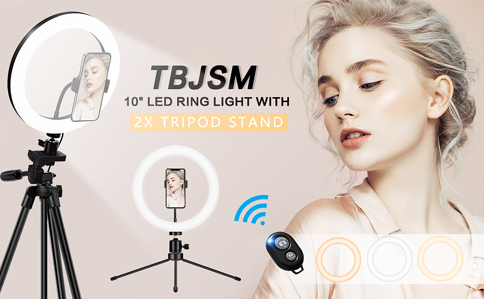 TBJSM 10'' LED Ring Light