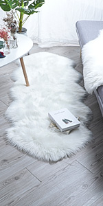 faux rug