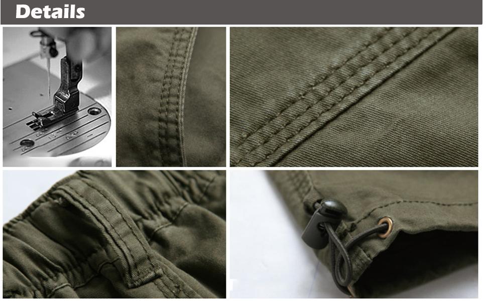 Cargo Shorts Long Casual Pants