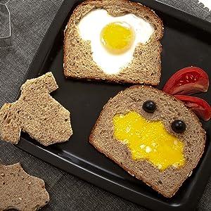 cutter omelet sandwich egg bakerpan cookie