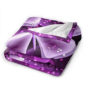 Purple Butterfly Blanket