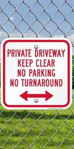 Private Driveway No Parking