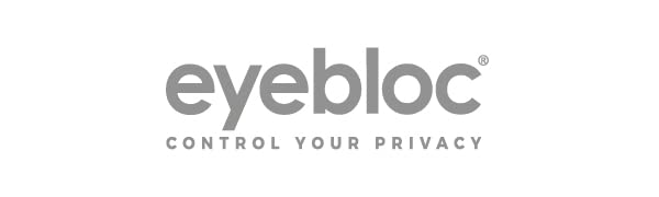 eyebloc logo webcam covers privacy and data protection for phones computers and tablets