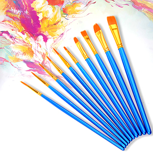 paint pallet brushes for kids