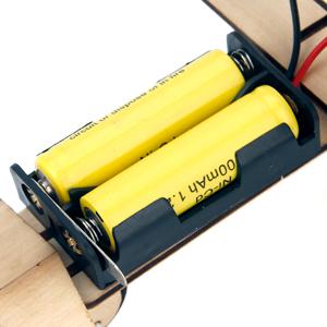 3d wooden puzzle solar power kit-6