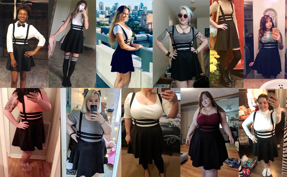 Bluetime skirts