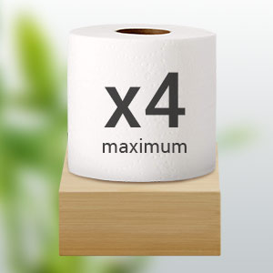 toilet paper holder with storage