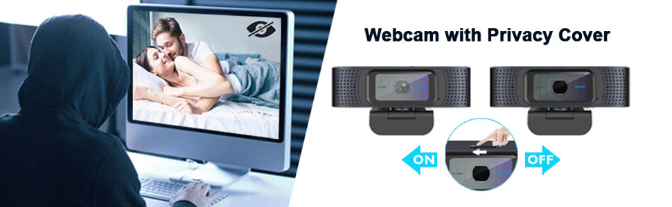 HD Web Camera with Privacy Cover